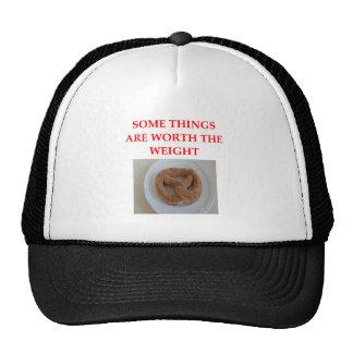 soft pretzel cap