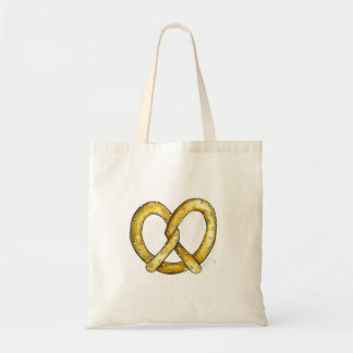 Soft Pretzel Foodie Snack Food Salty Pretzels Tote