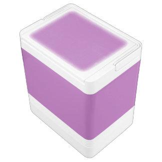 Soft Purple Color Igloo Cool Box