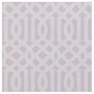 Soft Purple Trellis Fabric