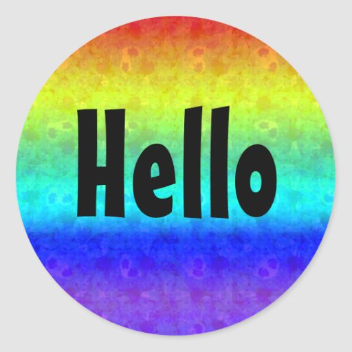 Soft Rainbow Stickers