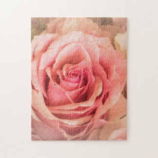Soft Rose Blush Jigsaw Puzzle