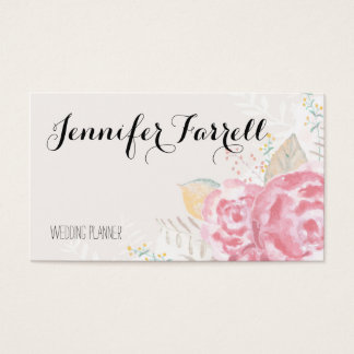 Soft Rose Garden Business Cards