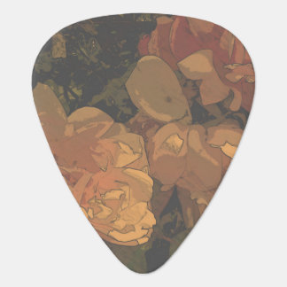 Soft Roses Guitar Pick