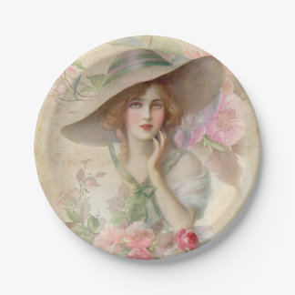 Soft Serenity 06 7 Inch Paper Plate