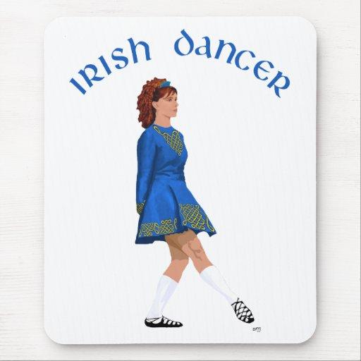 Soft Shoe Irish Dancer in Blue Mouse Pad