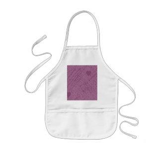 soft stitch pink love aprons