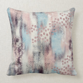 Soft Touch Painterly Cushion