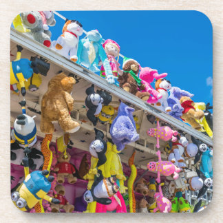 Soft toys hard plastic coasters
