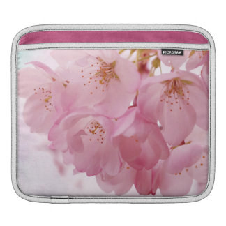 Soft Vintage Pink Cherry Blossoms iPad Sleeve