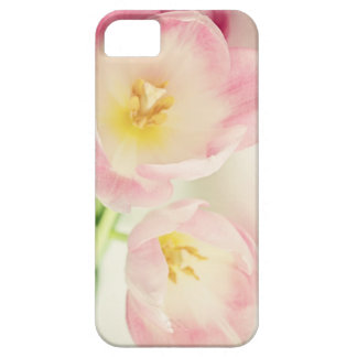 Soft Vintage Pink Tulips Case For The iPhone 5