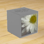 Soft White Daisy Wedding Favour Box
