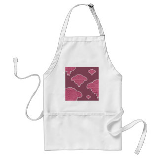 Soft wooly wink sheep standard apron