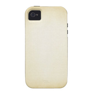 Soft Yellow Background Case-Mate iPhone 4 Case
