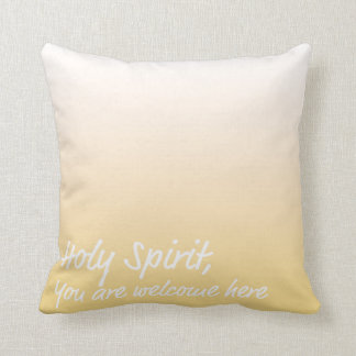 Soft Yellow Ombre Pillow