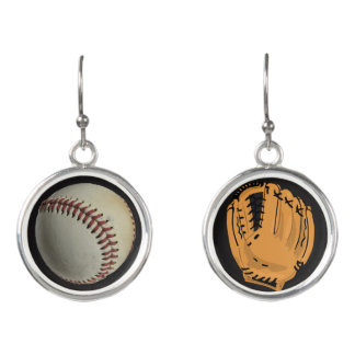 Softball Baseball Glove Softball Baseball Earring Earrings