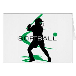 Softball - Batter Card