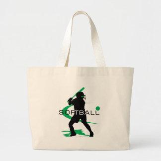 Softball - Batter Jumbo Tote Bag