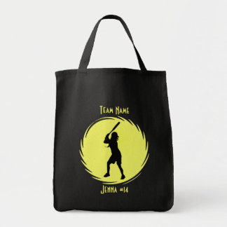 Softball Batter Tote Bag