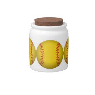 Softball Candy Jar