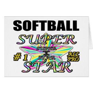 softball card