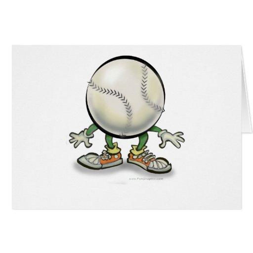 Softball Greeting Cards
