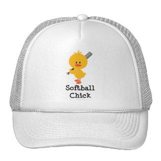 Softball Chick Hat