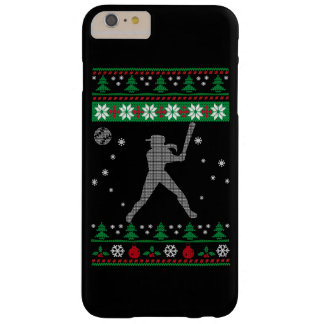 Softball Christmas Barely There iPhone 6 Plus Case
