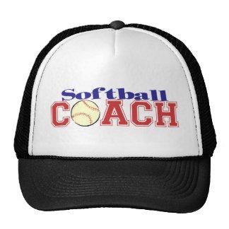 Softball Coach Cap