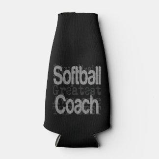 Softball Coach Extraordinaire Bottle Cooler