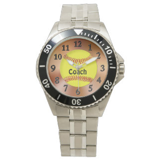 Softball Coach Gift Ideas Softball Watch w/ NAME