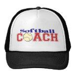 Softball Coach Hat
