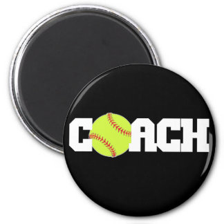 Softball Coach Magnet
