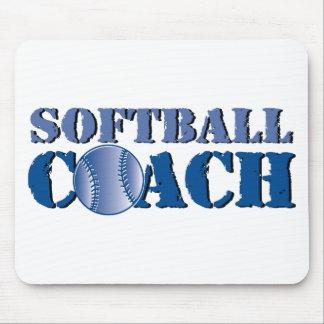 Softball Coach Mouse Pad