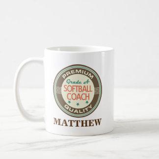 Softball Coach Personalized Office Mug Gift