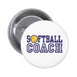 Softball Coach Pins