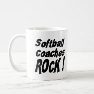 Softball Coaches Rock! Mug