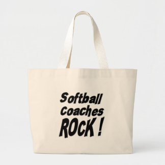 Softball Coaches Rock! Tote Bag
