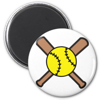 Softball Crossbats Magnet