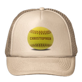 Softball Custom Ball Hat