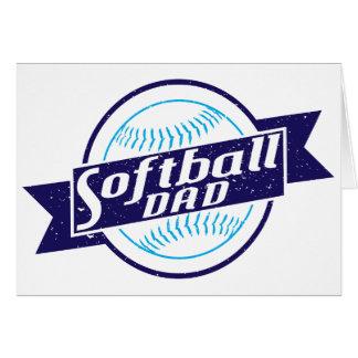 Softball Dad Card