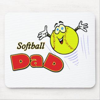 Softball Dad Mouse Mat