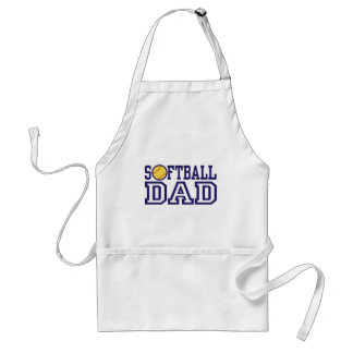 Softball Dad Standard Apron