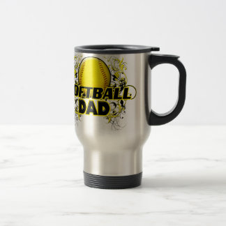 Softball Dads (cross).png Travel Mug