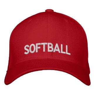 Softball Embroidered Hats