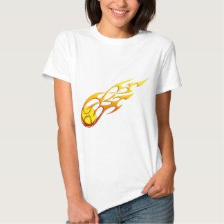 Softball Flame Tshirt