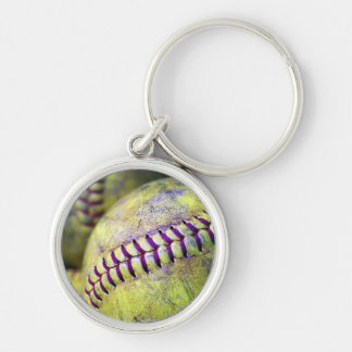 Softball Freak Key Ring