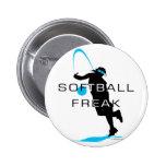 Softball freak - Pitcher front Pins