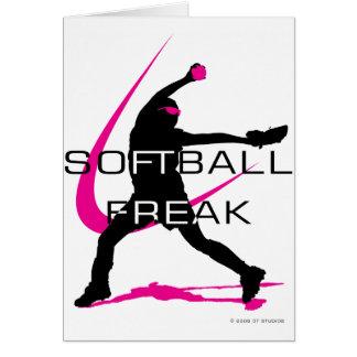 Softball Freak - Pitcher side Card