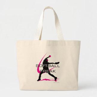 Softball Freak - Pitcher side Jumbo Tote Bag